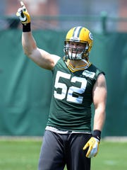 Packers linebacker Clay Matthews will be a part of the defensive squad for Sunday's Jordy Nelson Charity Softball Game at Fox Cities Stadium.
