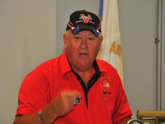 Donn Weaver, president of the Cape Canaveral Chapter
