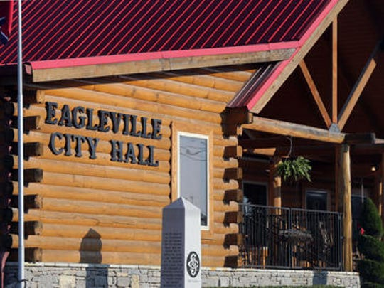 Eagleville City Hall is located at 108 S. Main St.