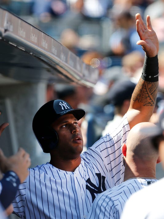 MLB: Game One-Cleveland Indians at New York Yankees