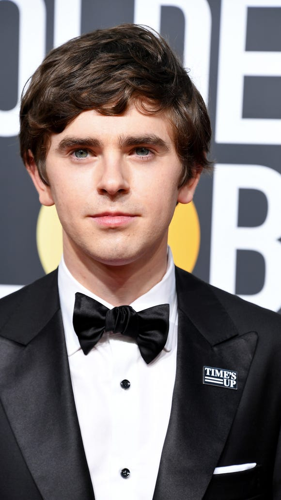 BEVERLY HILLS, CA - JANUARY 07:  Actor Freddie Highmore