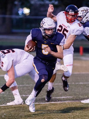 Quarterback Max Herro will try to lead Kettle Moraine to its second huge victory in as many weeks when the Lasers take on Catholic Memorial on Friday.