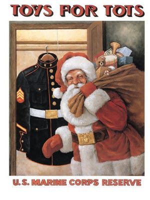 The Virgin Valley Family Services was able to help out 85 families and give toys to more than 20 children this year through the Toys for Tots Foundation for the Marine Corps.