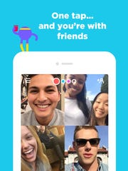 Video chats taken to the next level, friends can drop