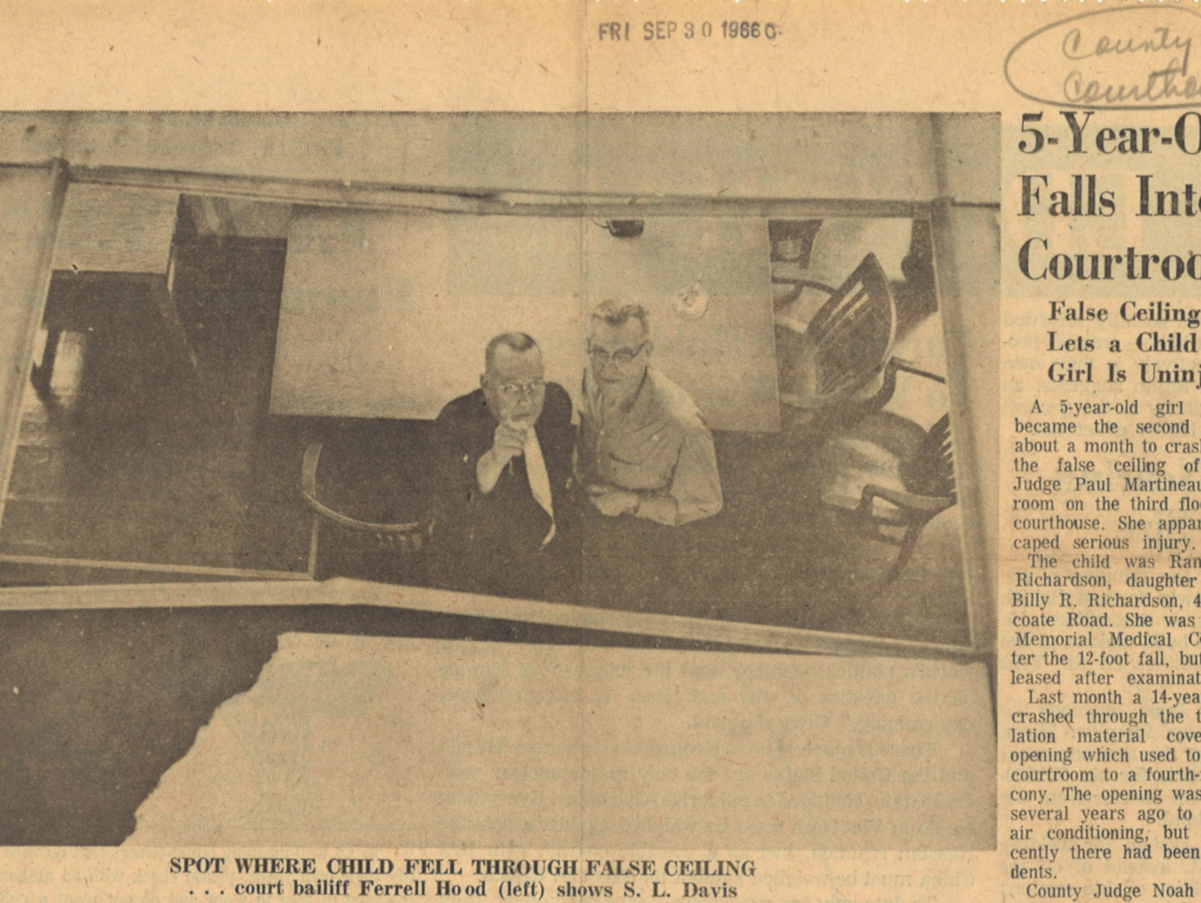 An article from Sept. 30, 1966 Caller-Times detailing