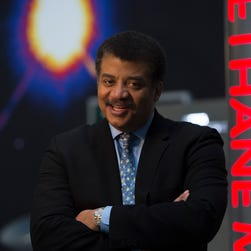 Astrophysicist Neil deGrasse Tyson, a frequent guest on the late-night talk circuit, has his own weekly show on NatGeo.
