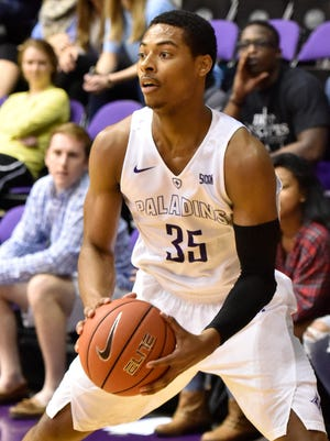 Furman's Daniel Fowler had 12 points and didn't miss a shot in the Paladins' 77-57 win over Samford Monday night.