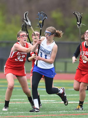 Action from Friday's game between Millbrook and Red Hook.