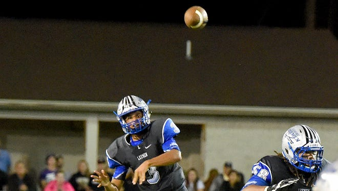 Jayden Williams, Robert E. Lee's senior quarterback, is the Shenandoah District's Offensive Player of the Year.