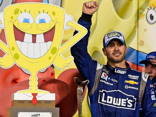 USP NASCAR: SPONGEBOB SQUAREPANTS 400 S CAR USA KS