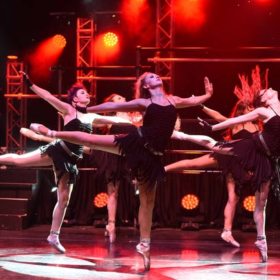 Images from A.V.A. Ballet Theater's  2016 Vortex - The Ballet that Rocks. The Artown event is free at the The Robert Z. Hawkins Amphitheater Friday July 15th and Saturday July 16th at 8:30