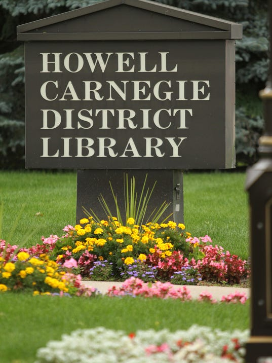 Howell Carnegie District Library, Howell, Mi.