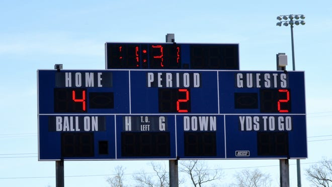 Suffern High School scoreboard