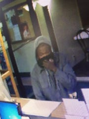 An image from video surveillance of  the suspect who robbed the Super 8 hotel in Ashwaubenon early Sunday morning, Oct. 23, 2016.
