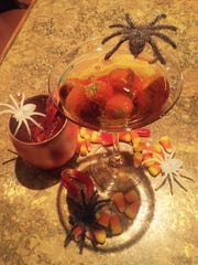 The Ghoul Mule and the Smashing Pumpkin Hot Toddy are