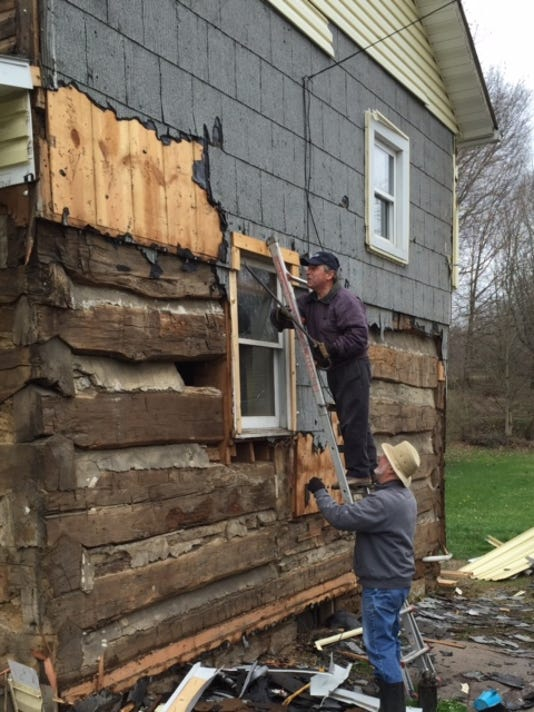 Cabin photo submitted Tom Pappas, Keith Metcalf
