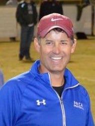 Tucson Pusch Ridge football coach Troy Cropp.
