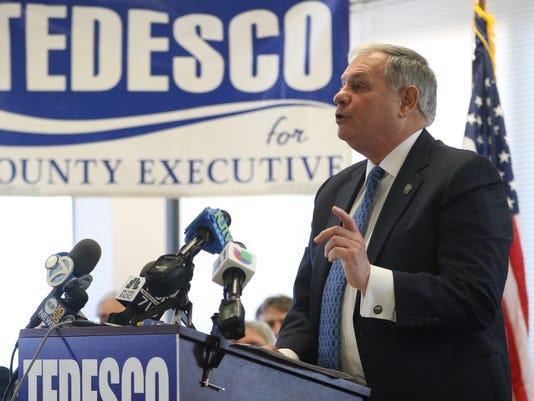 Jim Tedesco, Bergen County Executive