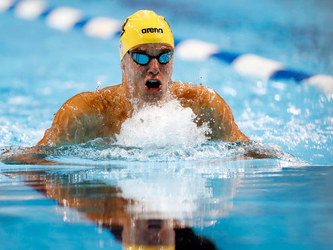 U.S. Olympic swimming trials