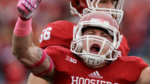 When healthy, Brownsburg's Chase Dutra has been a proven contributor for IU.