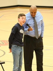 Port Clinton Middle School student Ben Lucas and ex-convict turned motivational speaker Ronald James discuss what kind of comments from classmates are brushed off and those that aren't.