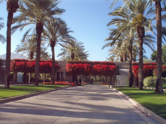 The Vintage Club Main Gate, Indian Wells, submitted by Randy Osman