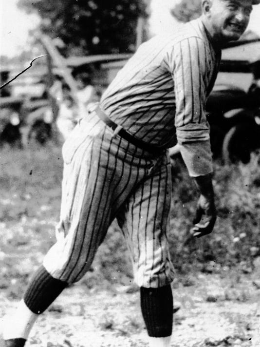 FILE - This undated file photo shows Shoeless Joe Jackson. In 1917, two years before their scandalous appearance in the 1919 World Series, the White Sox beat the Giants in the World Series and Jackson batted .301. (AP Photo, File)
