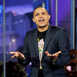"Trevor Noah performs on the ""Tonight Show With Jay Leno"" on Jan. 6, 2012."