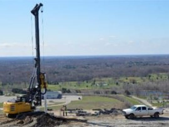 Ongoing construction at Arbor Hills landfill is helping reduce the level of odors emitted from the mountain of trash, according to a company spokesperson.