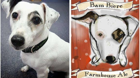 Jolly Pumpkin Artisan Ales founders Ron and Laurie Jeffries are pet-owners themselves. Their 10-year-old Jack Russell Terrier, Bam, is not only a member of the family, Bam's name and likeness appears on several of the brand's most popular styles.