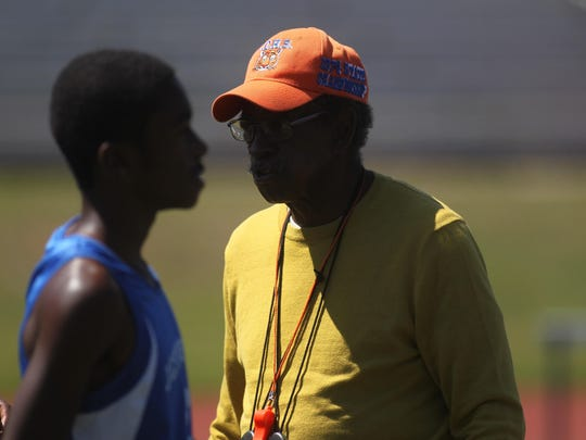 Harry Jacobs, a track and field coaching legend at Jefferson County and FAMU High, came out of retirement to continue coaching. He's now in his second year back at Jefferson County, working to build the program back up to previous heights.
