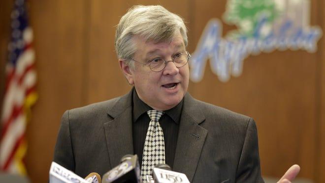 Appleton Mayor Tim Hanna.