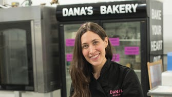 Dana's Bakery offers macarons in fun flavors. Owner Dana Pollack creates them at her South Hackensack kitchen on Thursday Feb. 22, 2018.