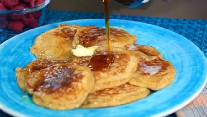 "It's doubtful you'll come across a more versatile pancake recipe than these whole grain pancakes, known as ""papa"" pancakes."