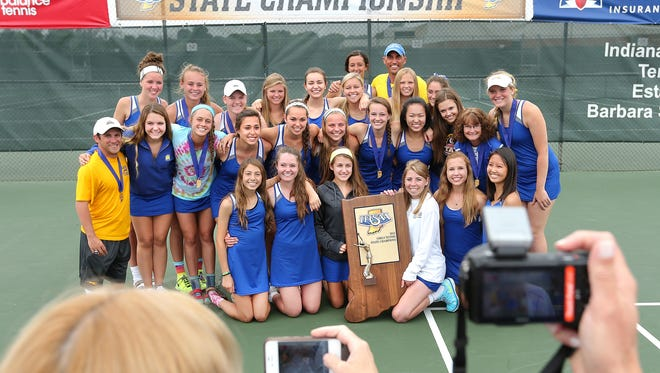 Will the Carmel girls win a fourth-straight state title?