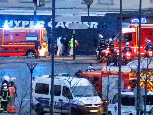 3 french terror suspects killed 4 hostages dead. Black Bedroom Furniture Sets. Home Design Ideas