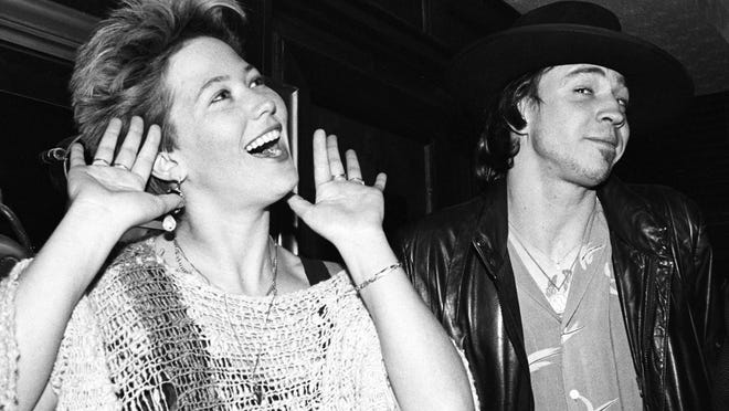 Kathy Valentine said the men of Austin's music scene always supported her. Stevie Ray Vaughan caught up with her in L.A. after they both found success in the music industry.