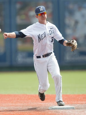 Shortstop Justin Bridgman has helped fortify the middle of the Wolf Pack's defense.