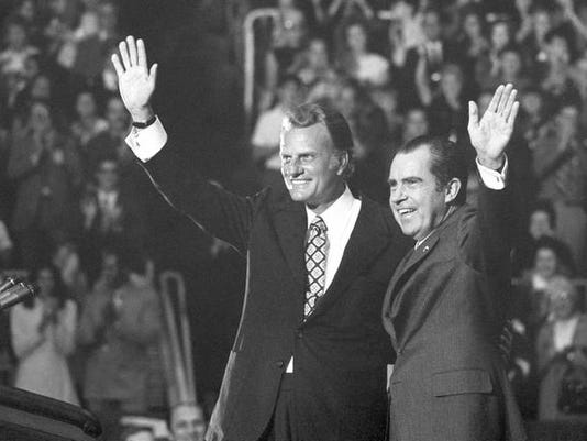 Billy Graham, Richard Nixon