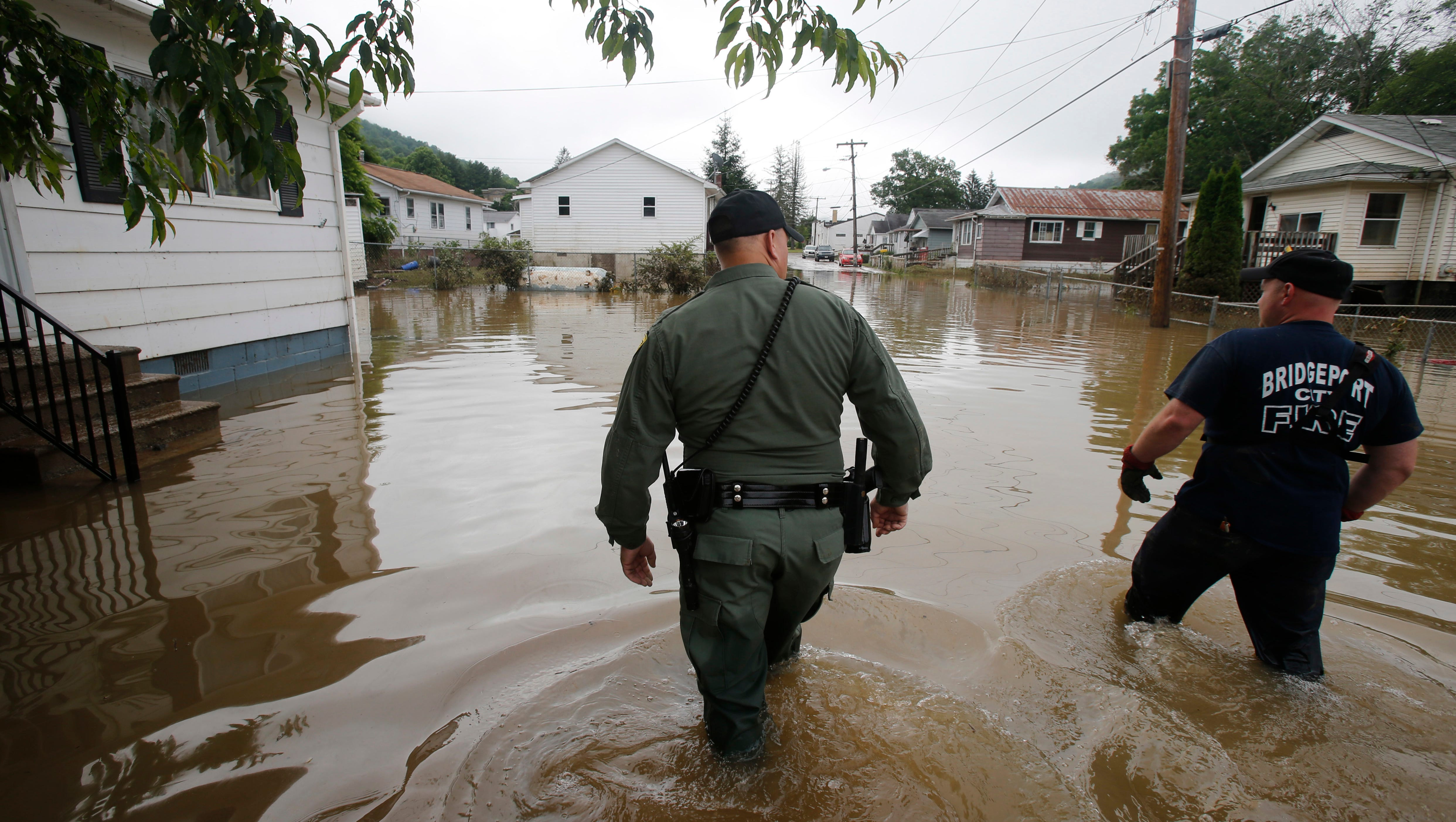 W Va Flooding Armed Patrols Formed As Wary Residents Eye More Rain
