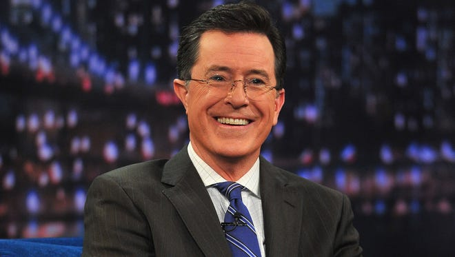 """Stephen Colbert will host the """"Late Show"""" next year."""