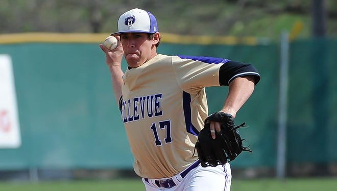 Former El Diamante and Bellevue University pitcher Leland Tilley was drafted by the St. Louis Cardinals.