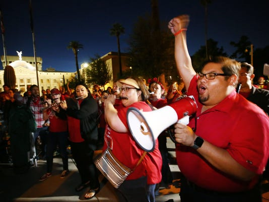 Arizona Teacher Walkout Day 5