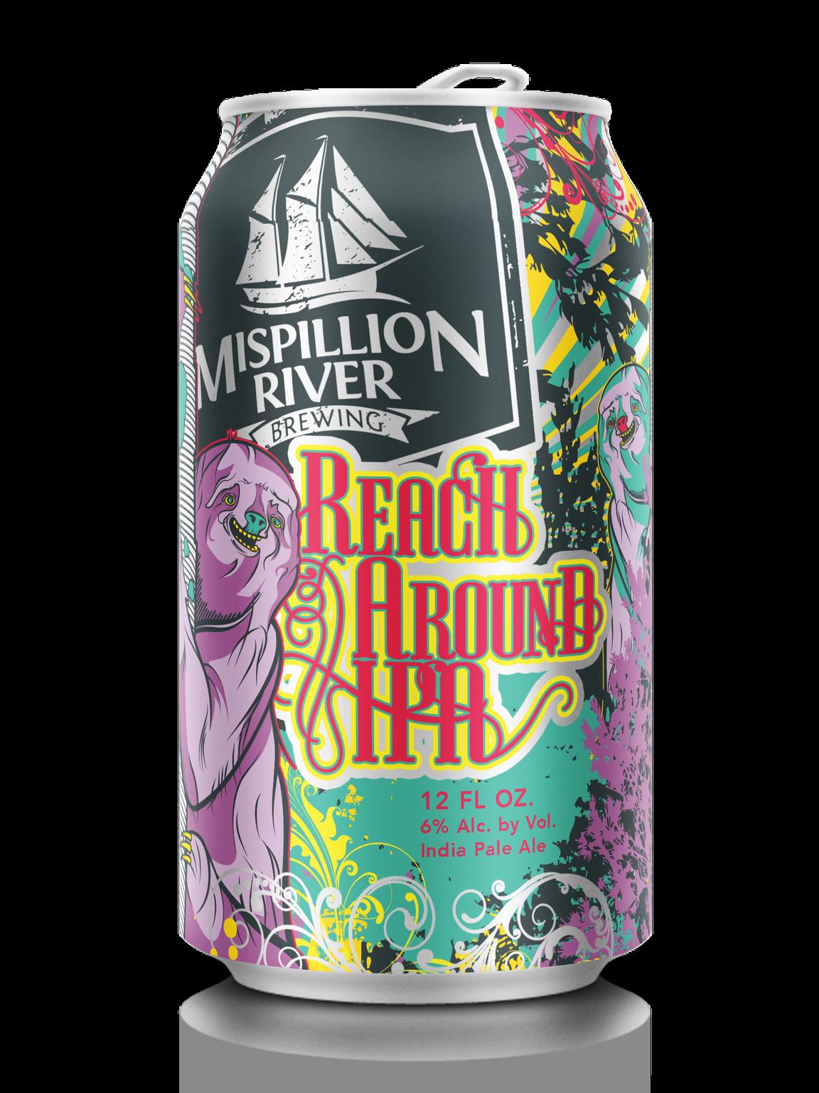 Mispillion River Brewing's Reach Around IPA.