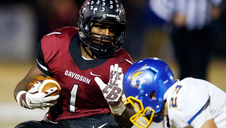 Top returning Nashville-area high school football running backs for 2018