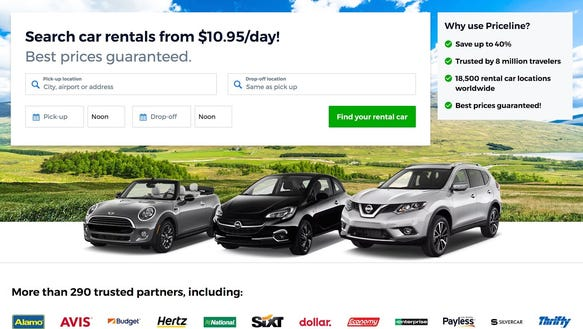 Priceline Usa Car Rental