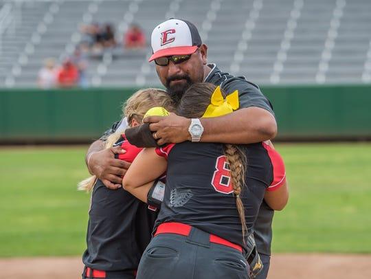 Centennial coach Alex Maynez and the Hawks won the