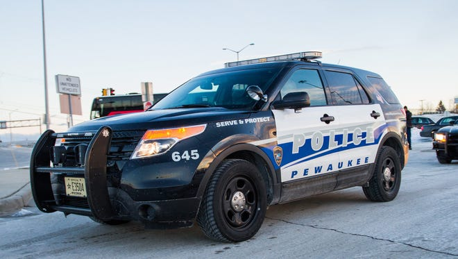 Pewaukee Police Department vehicle.