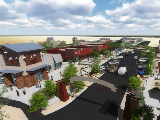 The Canyons at Cimarron will be a 92,000 square-foot