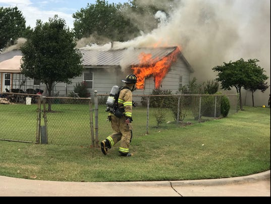 Dundee Drive house fire